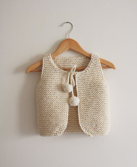 Lil Shepherd - Vest for babies to adults Knitting Pattern at Makerist - Image 1