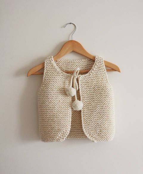 Lil Shepherd - Vest for babies to adults Knitting Pattern