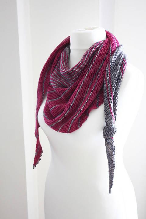 Different Ways - Shawl Knitting pattern