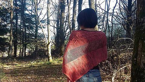 Athena shawl (en)