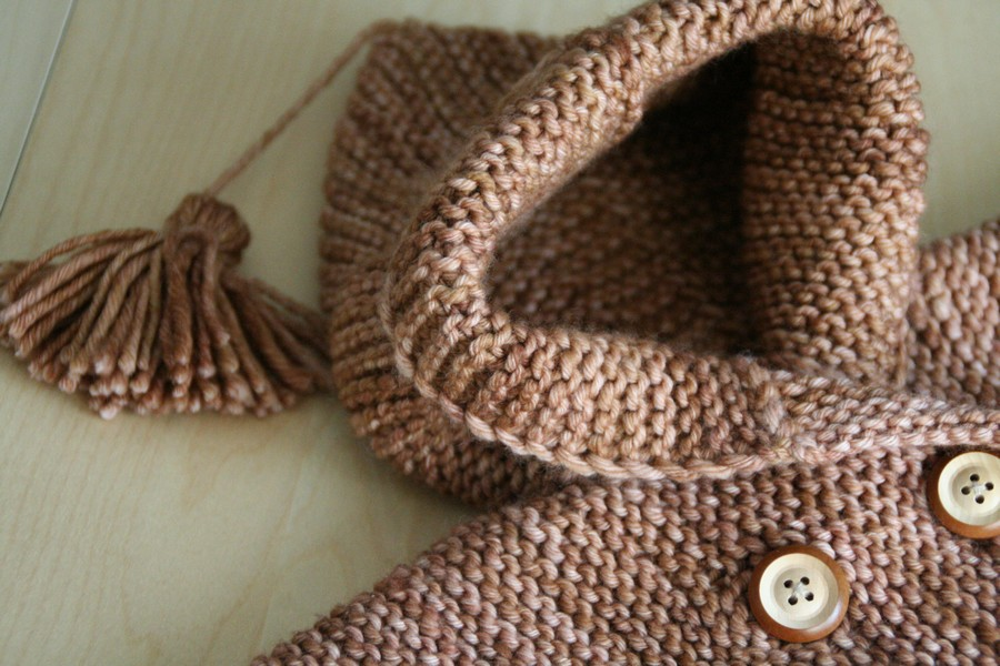 Jules - Baby coat knitting pattern