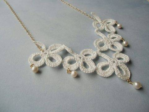 Shamrock. Crochet jewelry (en)