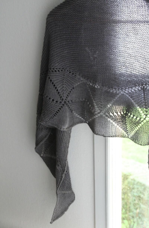 Swinging Triangles - Shawl knitting pattern