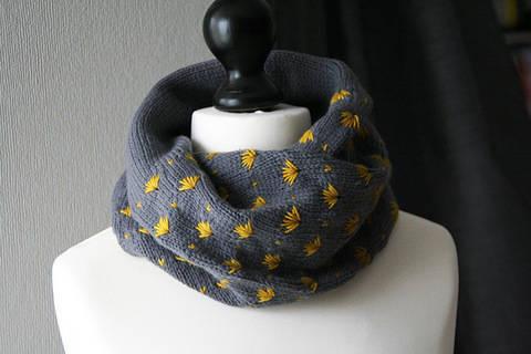Papyrus - Cowl knitting pattern