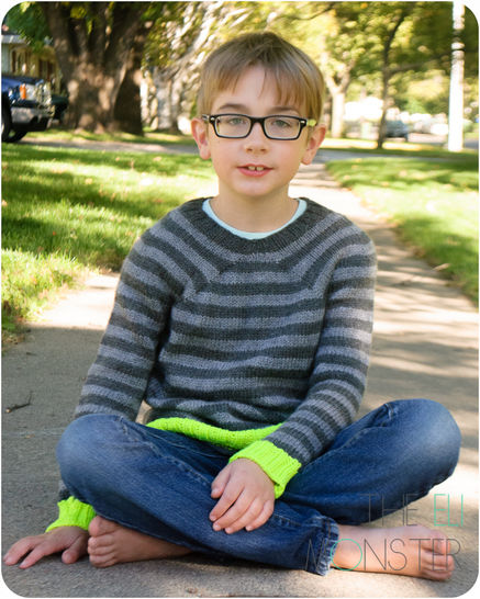 The Helder Sweater - Knitting Pattern for children 2y to 12y at Makerist - Image 1