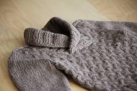 Gaston Child Sweater Knitting Pattern