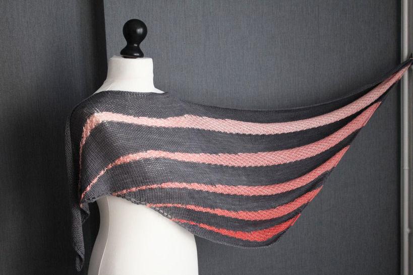 Soften - Shawl Knitting Pattern at Makerist - Image 1