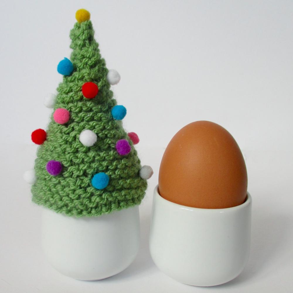 Christmas Tree Egg Cosy