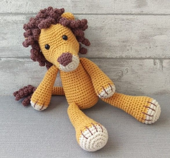 Crochet Pattern Lion - HANKIDS at Makerist - Image 1