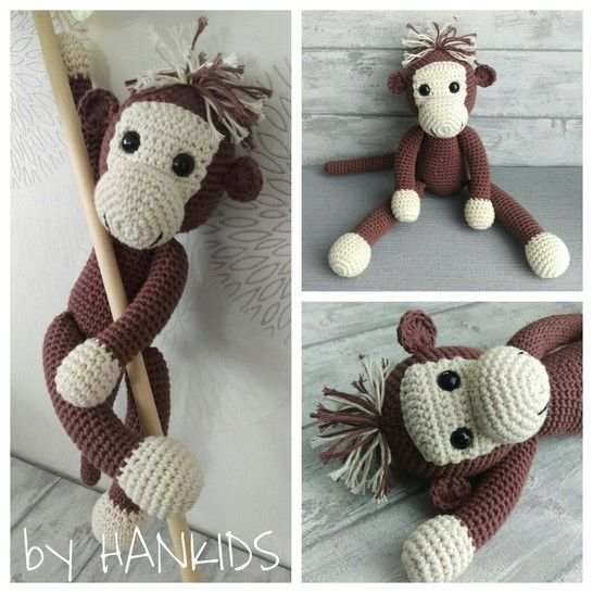 Crochet Pattern Monkey - HANKIDS at Makerist - Image 1
