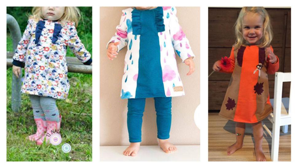 Nähanleitung und Schnittmuster littleGaia Rüschenkleid bei Makerist - Bild 1