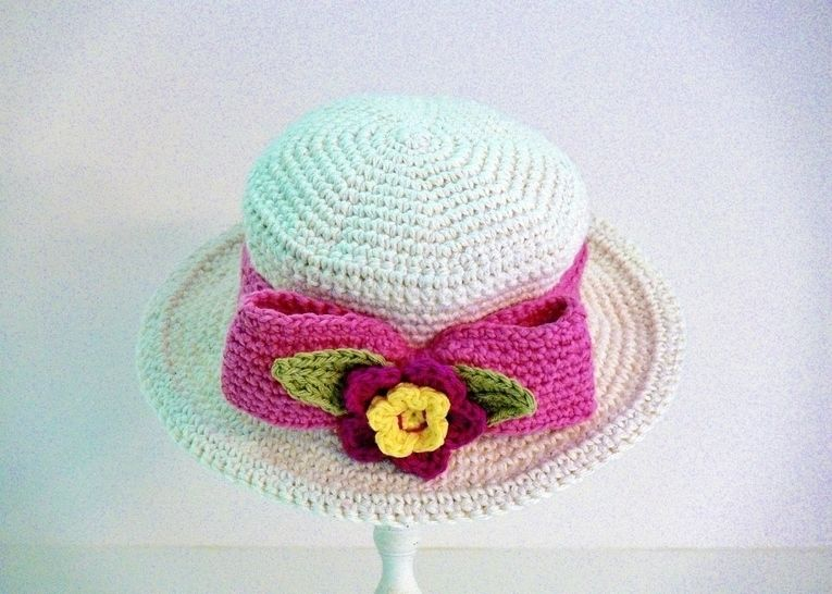 Riding Hat - Boater Hat, Baby up to Mens XL Crochet Pattern at Makerist - Image 1