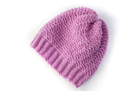 Baby Slouch Hat - Beanie - Knitting Pattern (en) bei Makerist