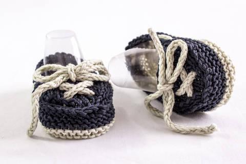 Baby Boat Shoes, Knitting Pattern (en) bei Makerist