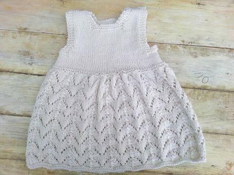 KNITTING PATTERN, Baby Lace Dress, Modern Baby Lace Dress, Summer Baby Dress , Sizes:0-6 months, 6- 12 months, 1- 2 years, 3-4 years (en) bei Makerist