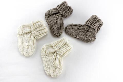 KNITTING PATTERN, Baby Socks ,Toddler Socks Pattern, Quick Baby Socks Knitting Pattern, Newborn Socks, Kids Sock Pattern (en) bei Makerist