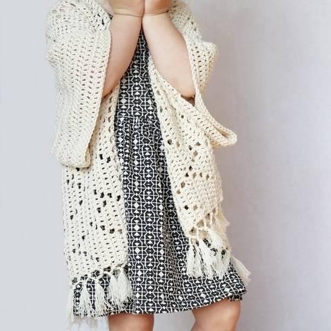 Crochet Pattern - Kenzie Kimono Cardigan for Toddlers, Kids, & Adults (en) bei Makerist