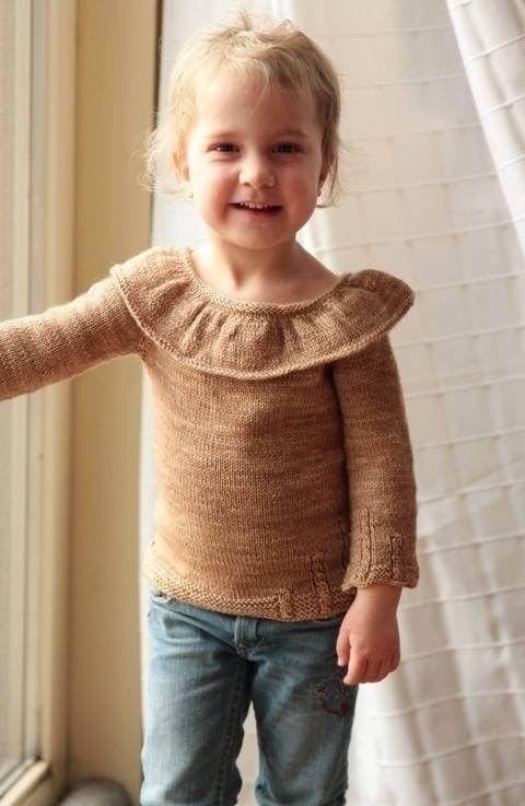 On The Moon Children's Sweater - Knitting (en) bei Makerist