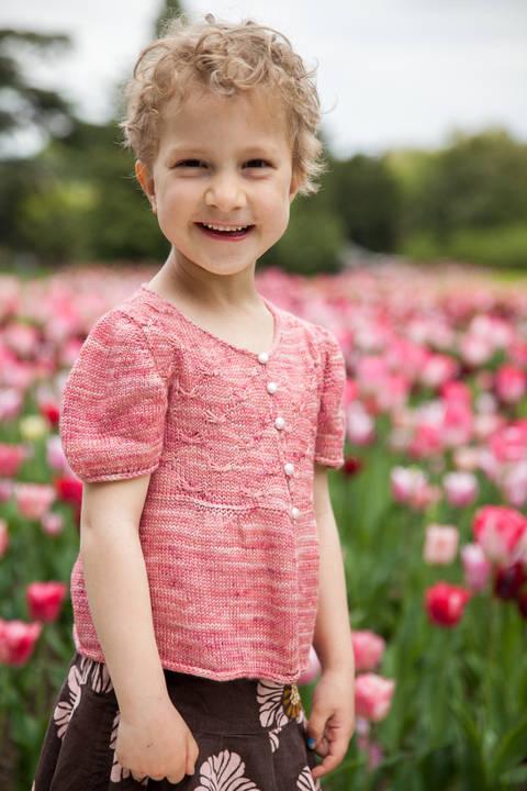 Sweet Butterfly Children's Cardigan - Knitting  (en) bei Makerist