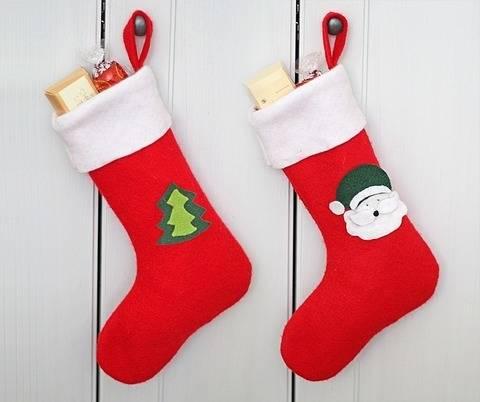 Nähanleitung Nikolausstiefel für Nikolaus und Weihnachten  bei Makerist