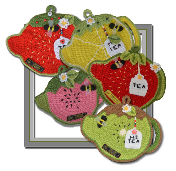 Fruity Tea Pot - Pot & Plate Holders at Makerist - Image 1