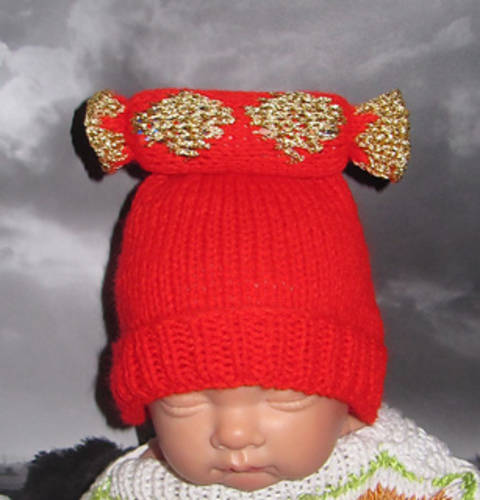 FREE Baby Christmas Cracker Beanie