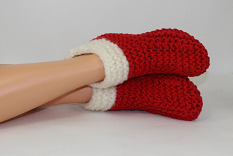 Christmas Super Chunky Slipper Boots at Makerist - Image 1