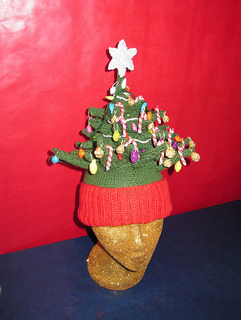 Christmas Tree Beanie and Desk Ornament