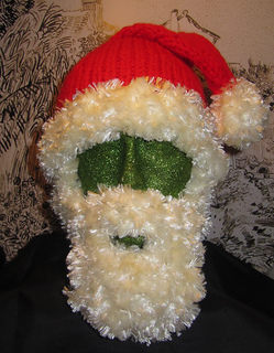 Bearded Santa Superfast Beanie Hat