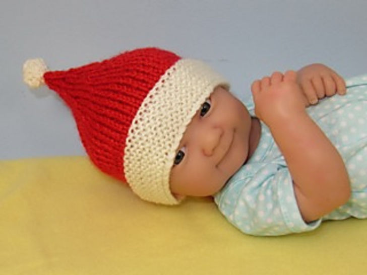 Premature Baby Santa Hat and Booties Set at Makerist - Image 1