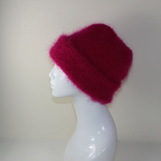 Extra Thick Mohair Hat at Makerist - Image 1
