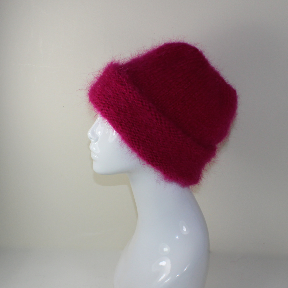 Extra Thick Mohair Hat