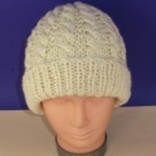 Easy Cable Unisex Beanie Hat at Makerist - Image 1