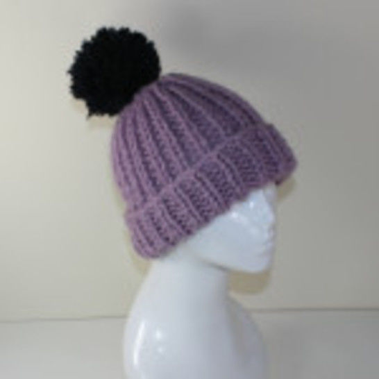 Super Chunky Rib Bobble Beanie at Makerist - Image 1