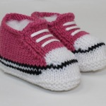 Easy Baby Basketball Booties