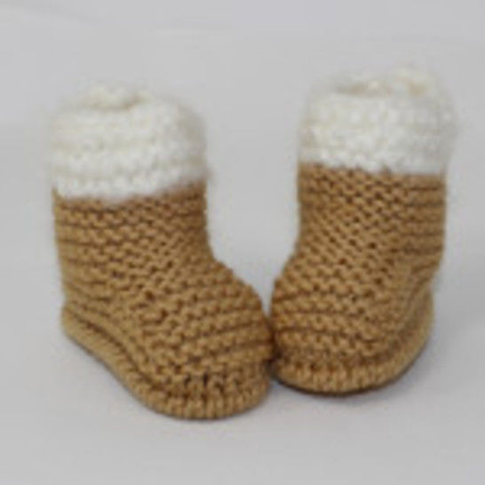 Chunky Baby Fur Top Booties at Makerist - Image 1