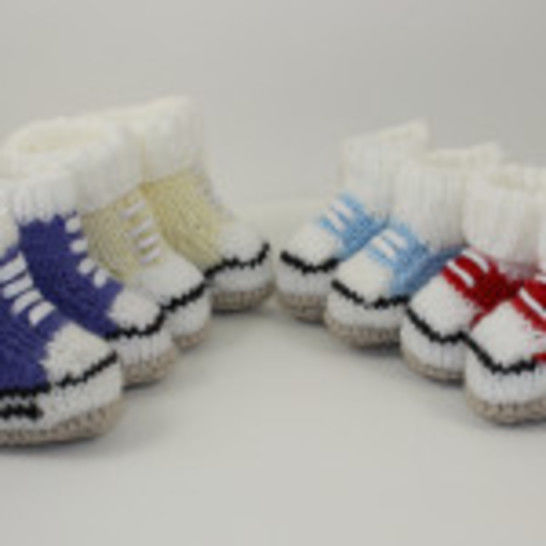 Chunky Baby Basketball Booties at Makerist - Image 1