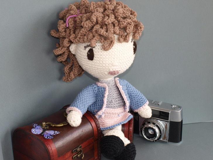 Häkelanleitung Puppe Coco auf Englisch bei Makerist - Bild 1