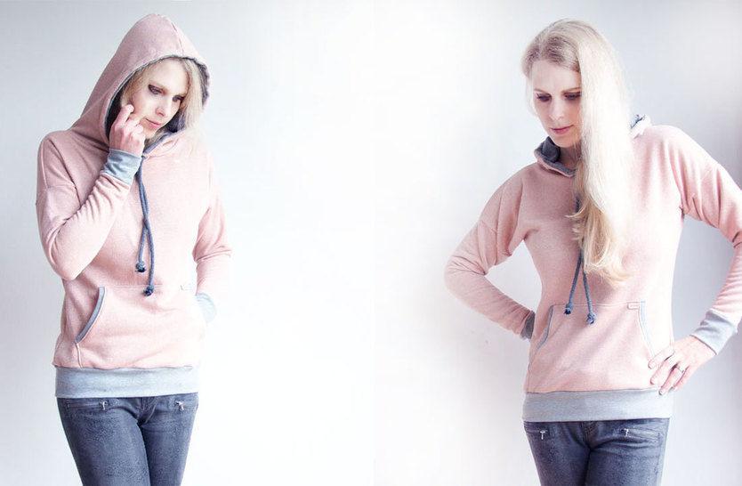 Winter-Sally - Hoodie für Damen eBook / Schnittmuster bei Makerist - Bild 1
