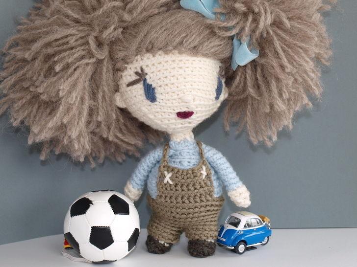 Häkelanleitung Puppe Lily auf Englisch bei Makerist - Bild 1
