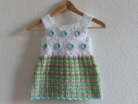 "Sommer Tunika-/Kleid ""Mila"", Häkelanleitung"