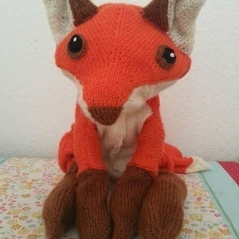 Fuchs, Strickanleitung