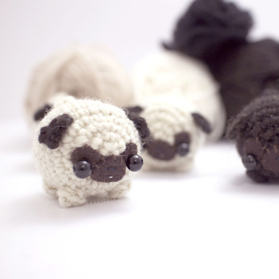 miniature pug - crochet amigurumi pattern at Makerist - Image 1