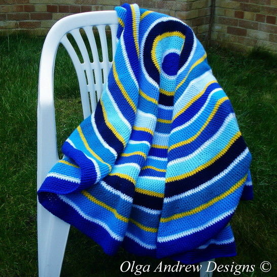 Round blanket/shawl/wrap crochet pattern 046 at Makerist - Image 1