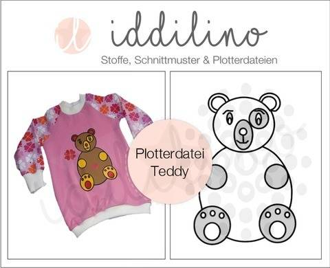 Plotterdatei Teddy
