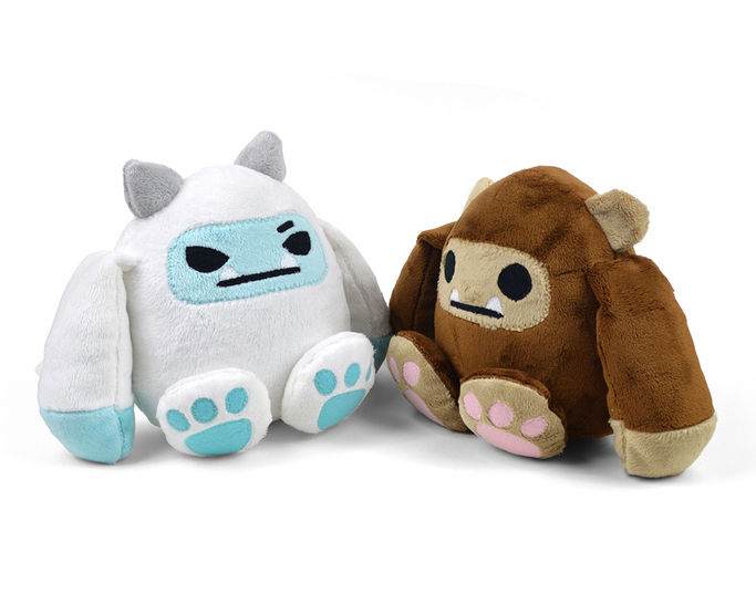 Bigfoot & Yeti Plush Toy Sewing Pattern at Makerist - Image 1