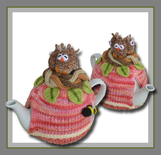 Owls in a Nest Tea Cosy at Makerist - Image 1