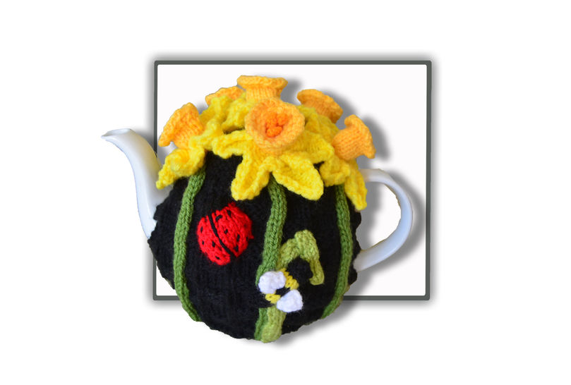 Daffodil Tea Cosy at Makerist - Image 1