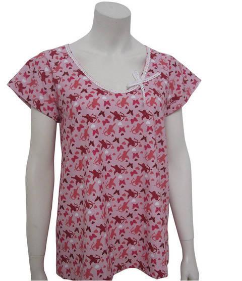 Sommer-Raglan Gr.38-48 lockeres Shirt mit kurzem Ärmel Raglanärmel für Anfänger geeignet