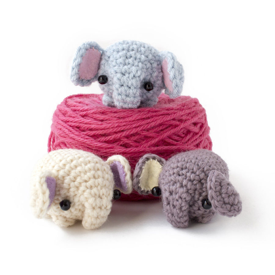 Olivier pattern by Rohn Strong | Crochet elephant pattern, Diy ... | 900x900